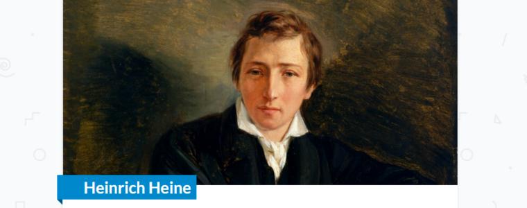 Heinrich Heine zum Neuen Jahr
